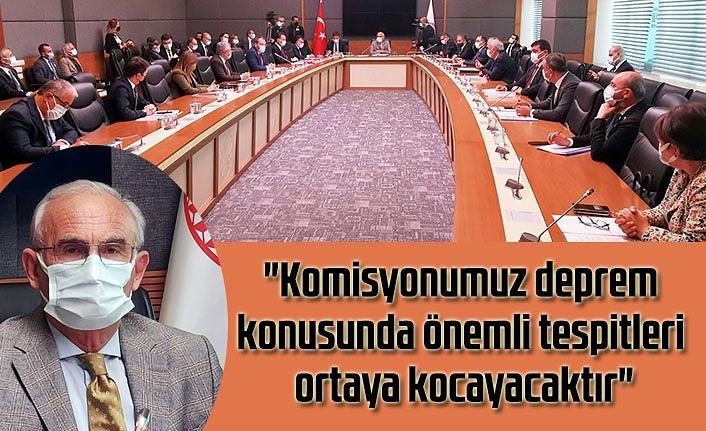Meclis Deprem Araştırma Komisyonu çalışmalarına başladı