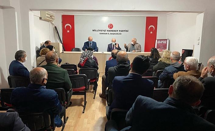 MHP Samsun İl Yönetim Kurulu Toplandı