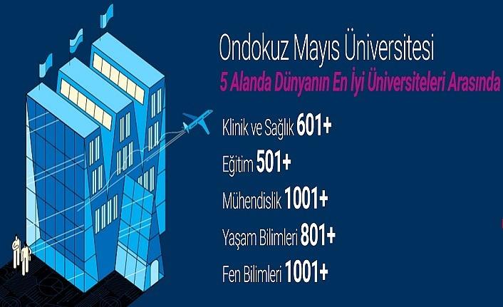 OMÜ, Alan Sıralamasında Dünyanın En İyi 522. Üniversitesi