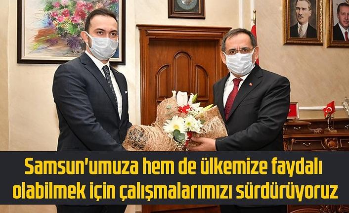 SAMGİAD'dan Başkan Demir'e ziyaret