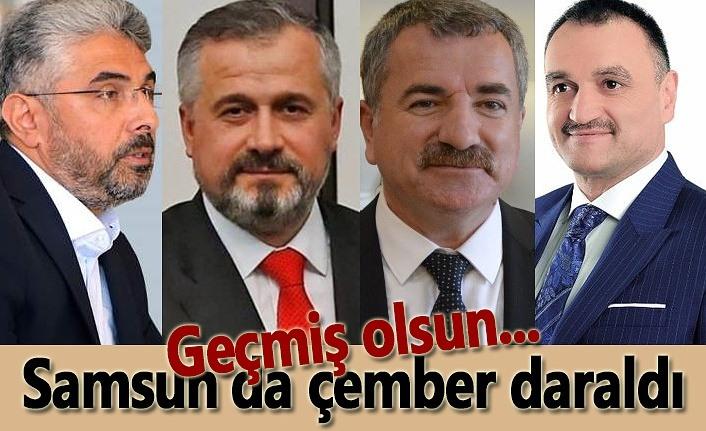 Samsun'da çember daraldı, 24 saatte 5 başkan pozitif