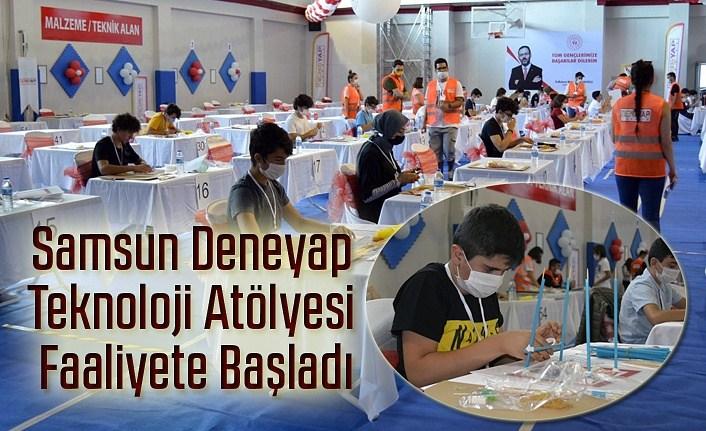 Samsun Haber, Deneyap Türkiye Projesi hayata geçti