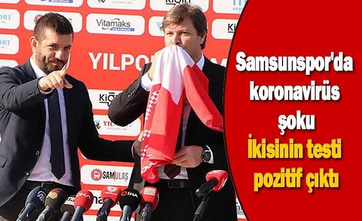 Samsunspor'da korona şoku, Ertuğrul Sağlam'ın testi pozitif çıktı