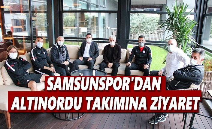 Samsunspor'dan Altınordu Takımına Ziyaret