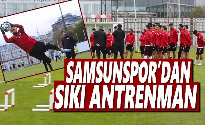 Samsunspor'dan Sıkı Çalışma
