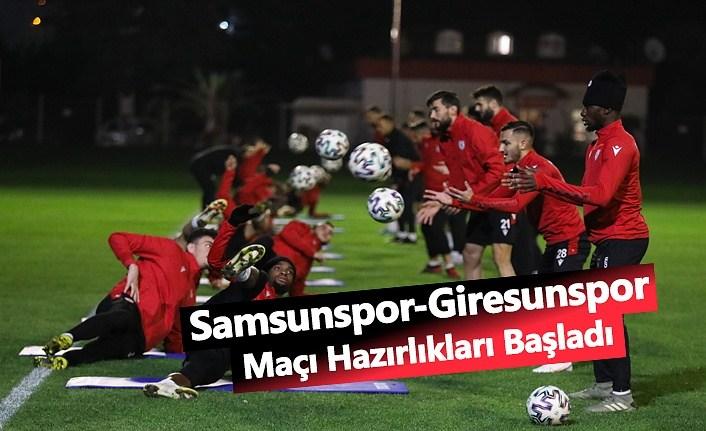 Samsunspor Giresunspor'a Bileniyor