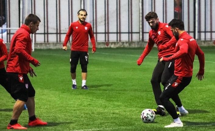 Samsunspor Giresunspor maçı hazırlıklarını sürdürüyor