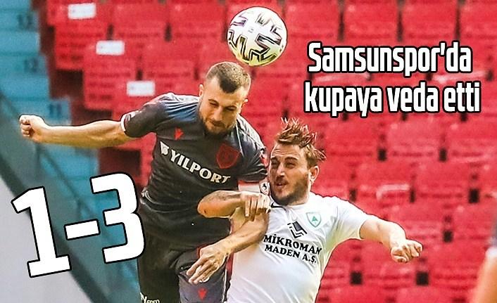Samsunspor Muğlaspor'a 3-1 yenildi - Kupaya erken veda