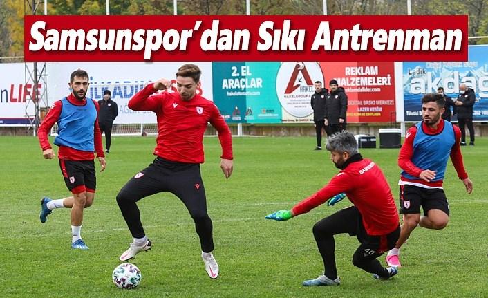 Samsunspor Tuzlaspor Maçına Hazırlanıyor