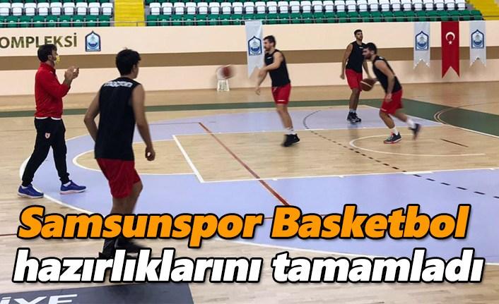 Samsunspor Basketbol hazırlıklarını tamamladı