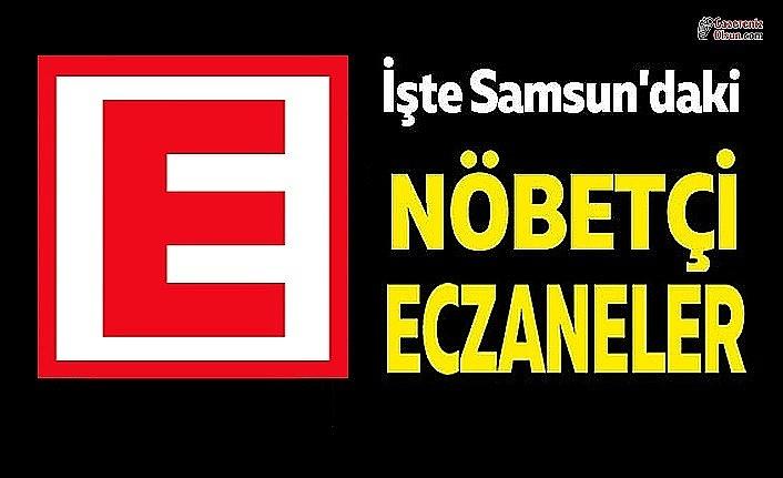 10 Aralık Samsun nöbetçi eczane, Samsun nöbetci eczane Nerede!