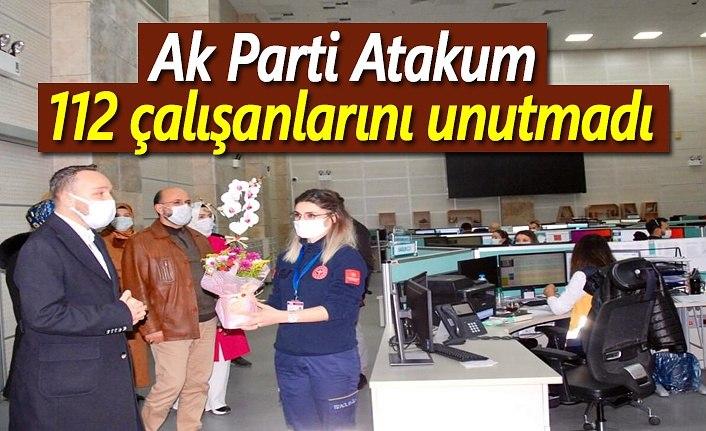 AK Parti Atakum 112 çalışanlarını unutmadı