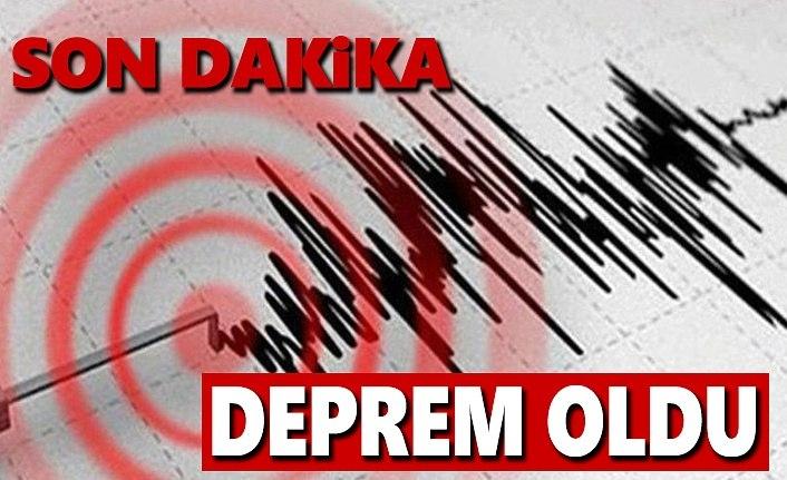 Antalya'da deprem 5,2 büyüklüğünde