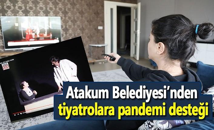 Atakum Belediyesi Samsun tiyatrolarını yalnız bırakmadı