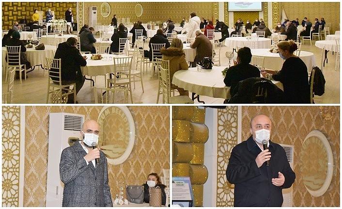 Atakum Belediyesi'nden çalışanlarına iş sağlığı ve güvenliği eğitimi