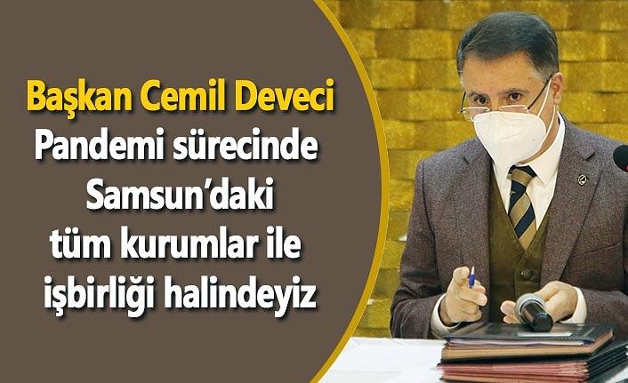 Atakum Belediyesi'nden deprem izleme istasyonları - Samsun Haber