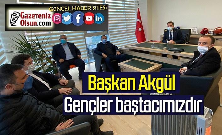 Başkan Akgül: Gençler baştacımızdır - Salıpazarı Haber
