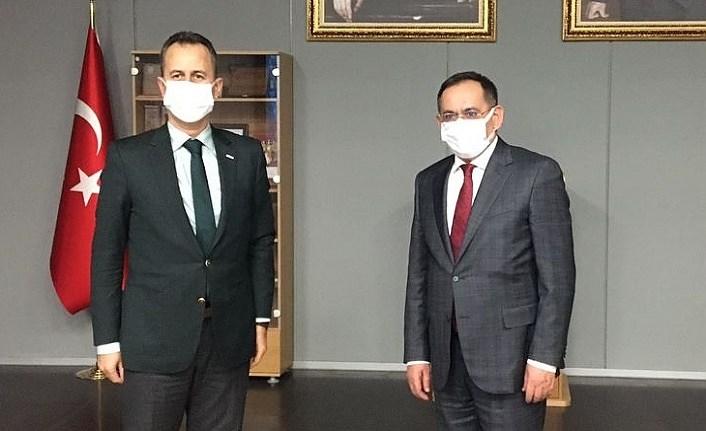 Başkan Demir Ankara'da temasta