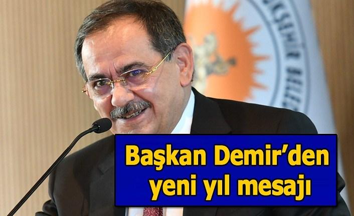 Başkan Demir'den yeni yıl mesajı