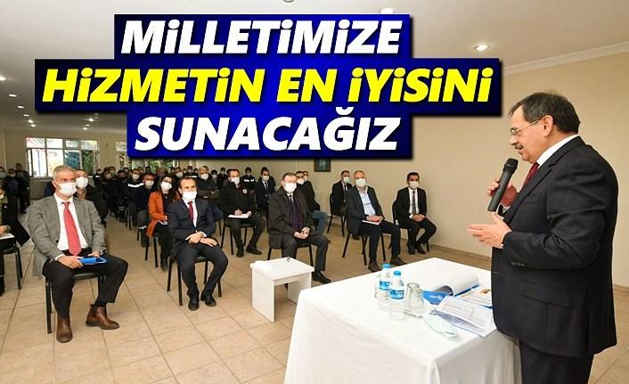 Başkan Demir: Milletimize en iyi, en kaliteli hizmetleri sunacağız