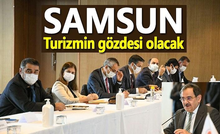 Başkan Demir: Turizm denildiğinde aklınıza gelen her şey Samsun'da var
