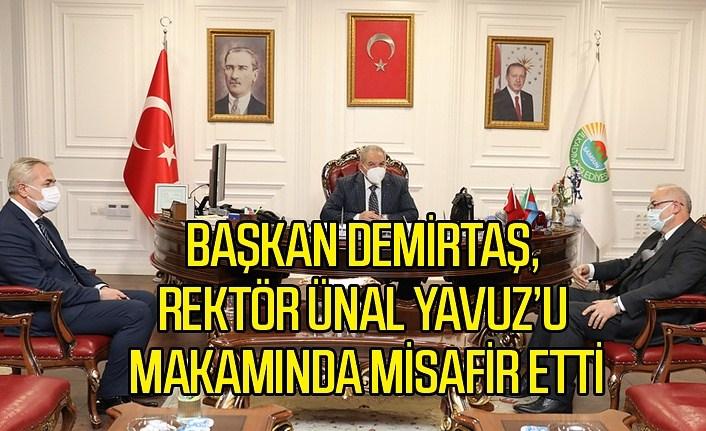 Başkan Demirtaş: Üniversite- belediye işbirliğini çok önemsiyoruz
