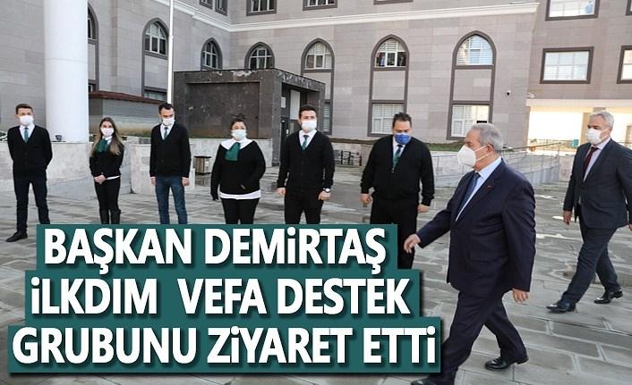 Başkan Demirtaş, Vefa Destek Gurubunu ziyaret etti