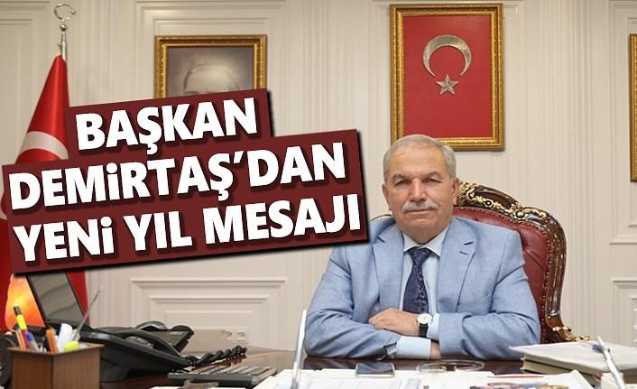 Başkan Demirtaş'dan Yeni Yıl Mesajı