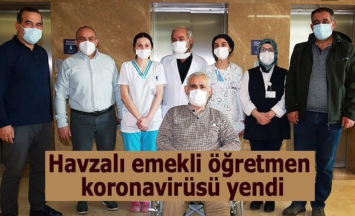 Emekli öğretmen koronavirüsü yendi - Havza Haber