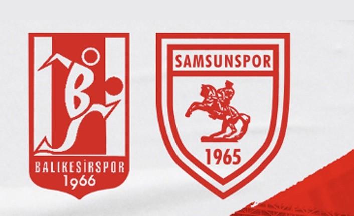 Ertelenen Balıkesirspor Samsunspor maçının tarihi belli oldu
