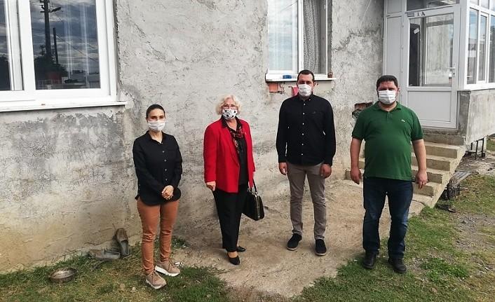 İhtiyaç sahibi ailenin evi kışa hazır hale getirildi - Atakum Haber