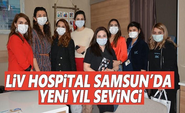 Liv Hospital Samsun'da Yeni Yıl Sevinci