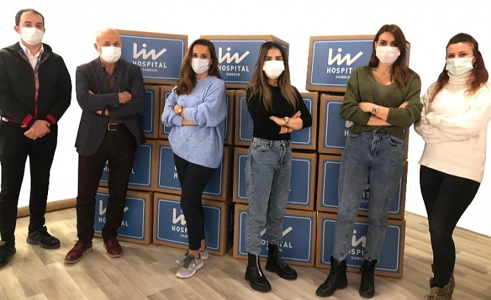 Liv Hospital Samsun'dan İzmirli depremzedelere destek