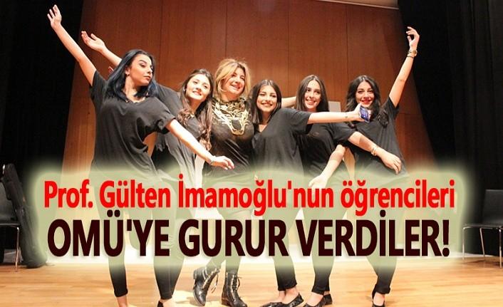 Prof. Dr. İmamoğlu'nun öğrencileri OMÜ'yü başarıyla temsil etti