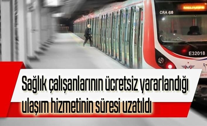 Sağlık çalışanlarının ücretsiz yararlandığı ulaşım hizmetinin süresi uzatıldı - Samsun Haber