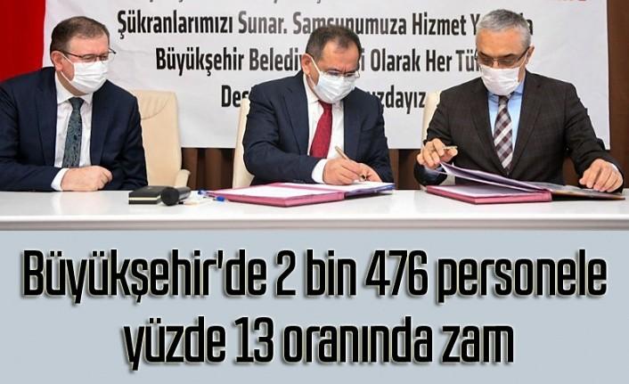 Samsun Büyükşehir Belediyesi'nde toplu iş sözleşmesi, ne kadar zam yapıldı?