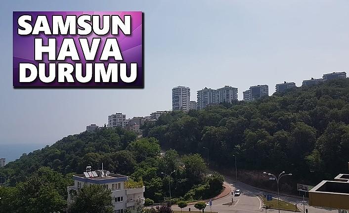 Samsun'da hava bugün nasıl olacak! 2 Aralık Samsun Hava Durumu