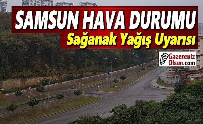 Samsun'da Sağanak yağış uyarısı, Samsun Hava Durumu