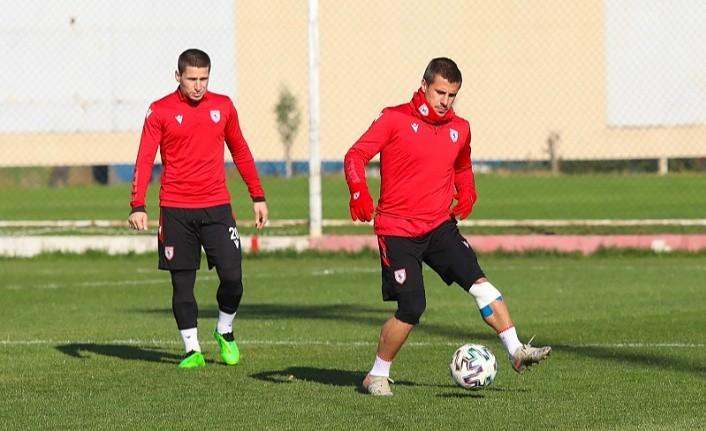 Samsunspor Ankaraspor maçına hazırlanıyor