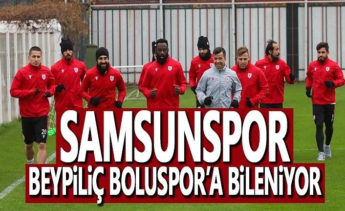 Samsunspor, Beypiliç Boluspor Maçına Hazırlanıyor