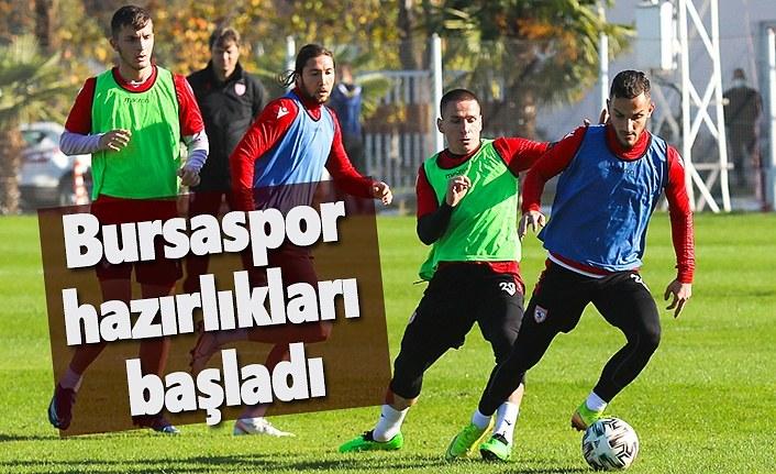 Samsunspor Bursaspor maçının hazırlıklarını sürdürüyor