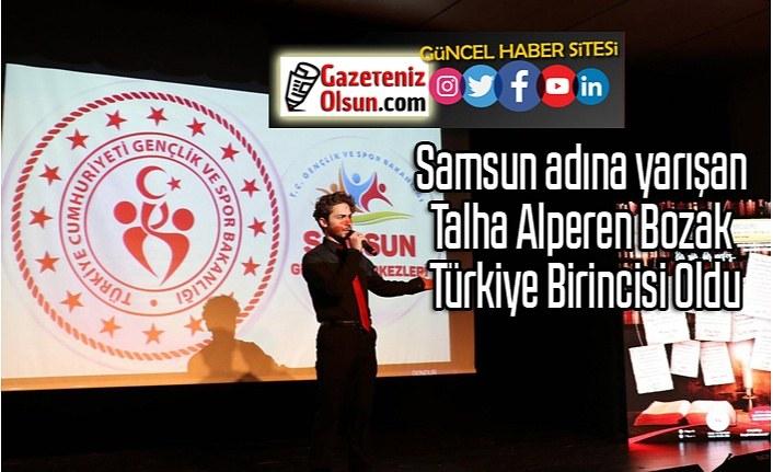 Talha Alperen Bozak Türkiye Birincisi Oldu