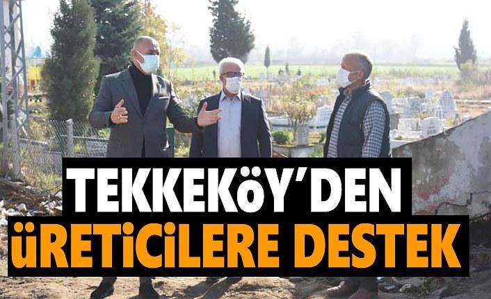 Tekkeköy Belediyesi'nden üreticiye destek