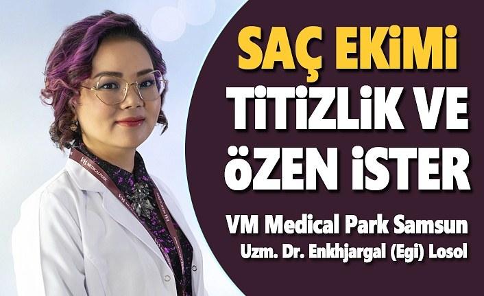 VM Medical Park Samsun'da Saç ekimi Titizlik ve Özen ile yapılıyor