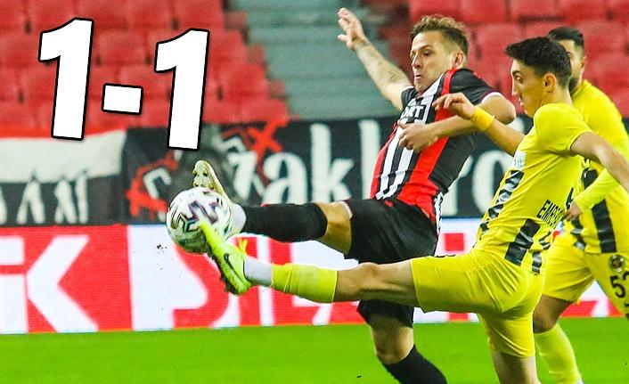 Yılport Samsunspor Menemenspor maç sonucu: 1-1