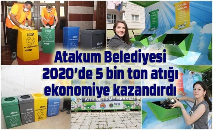 Atakum Belediyesi'nden çevre ve ekonomiye katkı