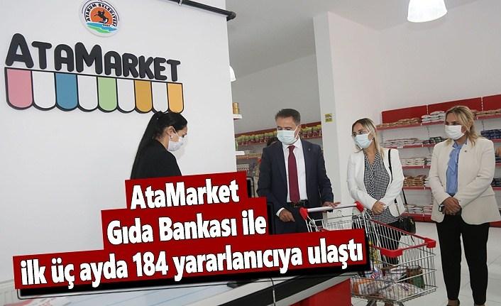 AtaMarket Gıda Bankası ile ilk üç ayda 184 yararlanıcıya ulaştı