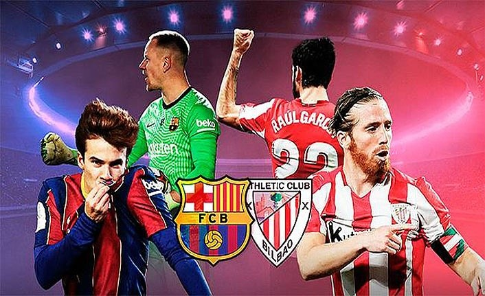 Barcelona Athletic Bilbao İspanya Süper Kupası finali ne zaman hangi kanal da?
