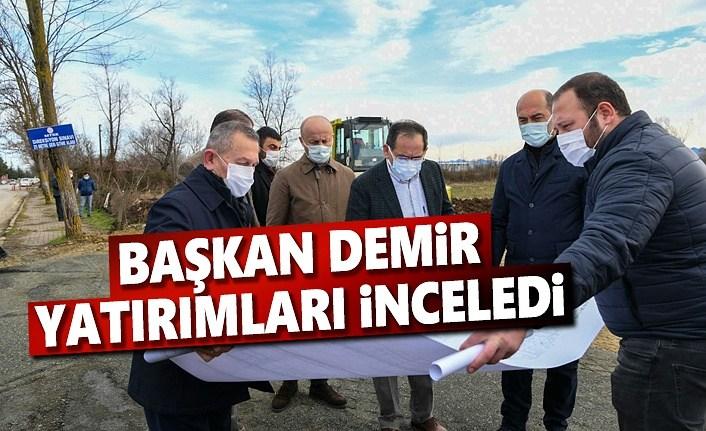 Başkan Demir, Yatırımları Yerinde İnceledi