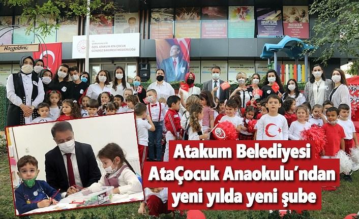Başkan Deveci'den Atakumlu ailelere ikinci AtaÇocuk Anaokulu müjdesi